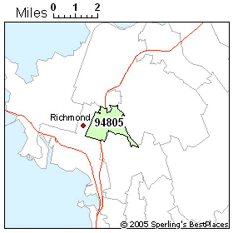 zip code map richmond ca best place to live in richmond zip 94805 california