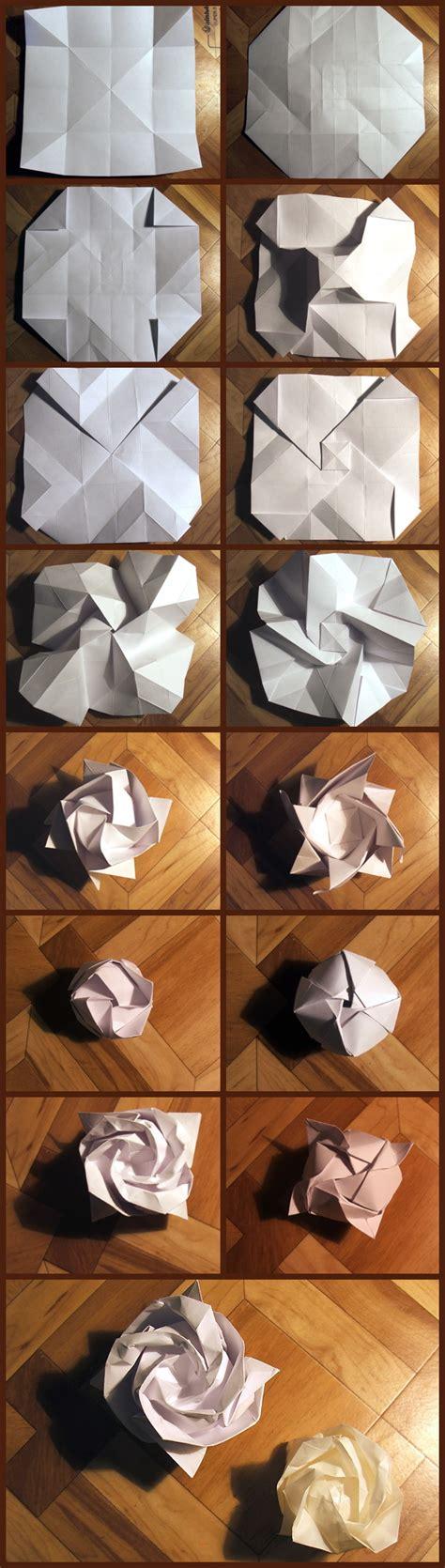 Origami Kawasaki Step By Step - origami tutorial origami