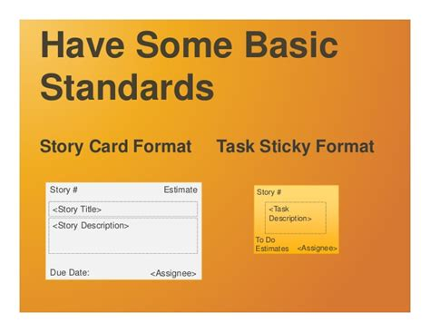 agile task cards template how to build scrum task boards that radiate information