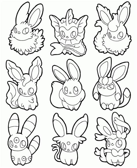pokemon coloring pages eevee evolutions glaceon http colorings co eevee evolutions coloring pages