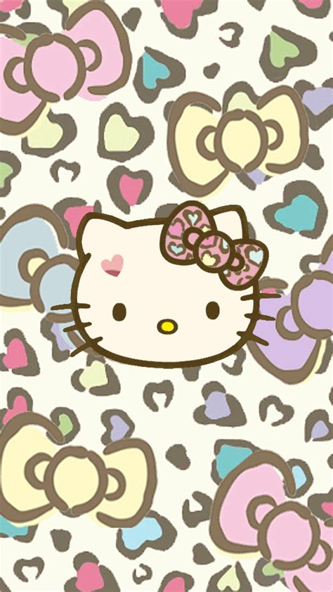 hello kitty leopard wallpaper for android love pink hello kitty wallpapers free