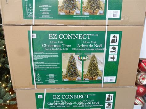 ez connect 9ft christmas tree instuctions ez connect 7 5ft prelit led tree