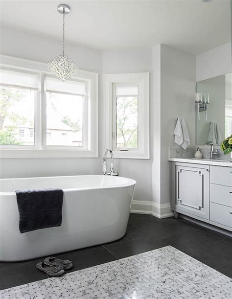 Grey And White Bathroom Ideas by Gray And White Bathroom Ideas Transitional Bathroom