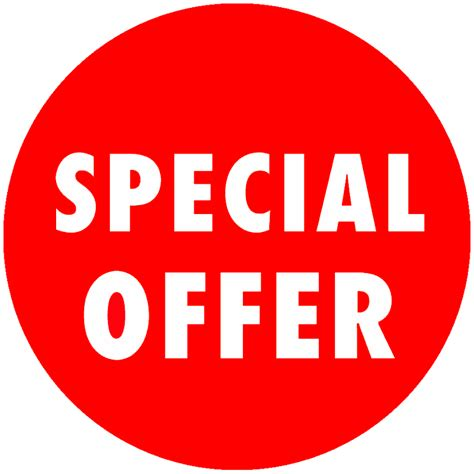 special offer special offer stickers