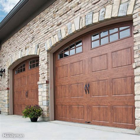 garage door images garage door repair the family handyman