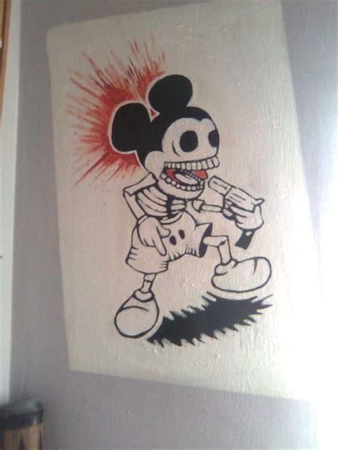 imagenes a lapiz de suicidas mickey suicida por culebras dibujando