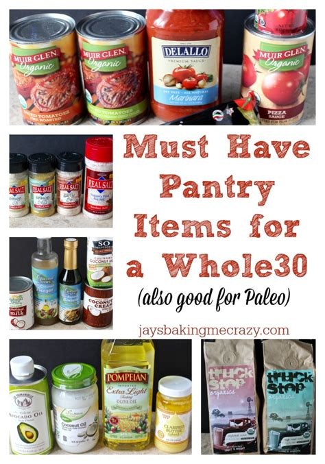 Pantry Items To On must pantry items for a whole30 s baking me