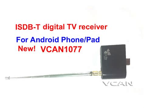 Tv Tuner Android Philippines vcan1077 isdb t digital tv receiver for android phone pad with micro usb tv tuner