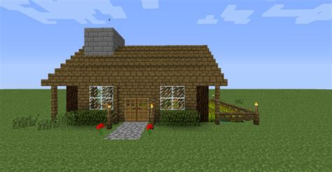 easy house in minecraft nice survival house minecraft project