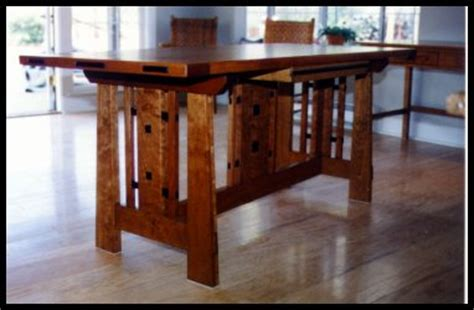 craftsman style dining room table heart of oak workshop authentic craftsman mission style