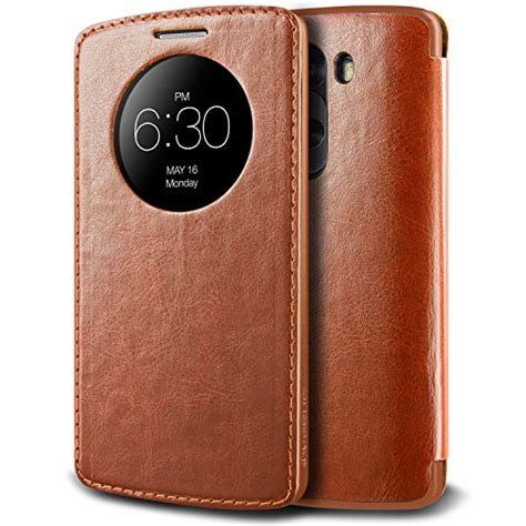 Verus Dandy Layered Leather Lg G5 Original Coffe Original 9 best lg g3 cases covers