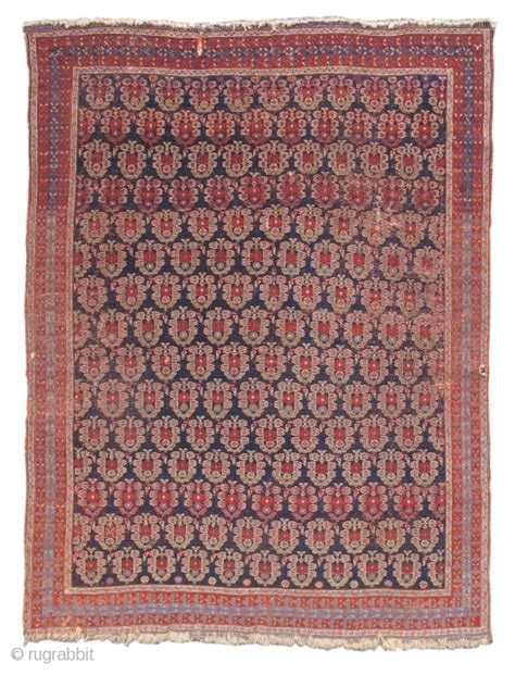 Pap Rugs by Afshar Rug Mid 19th Cen Woven Like A Textile This