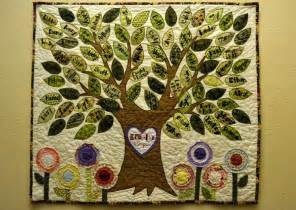 family tree quilt quilting