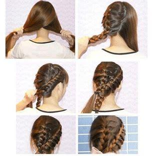 tutorial variasi kepang rambut tutorial cara mudah mengepang rambut sendiri tutorial