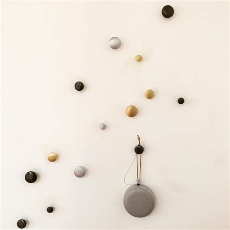 Above Kitchen Cabinet Storage the iconic muuto dot coat hooks now in metal remodelista
