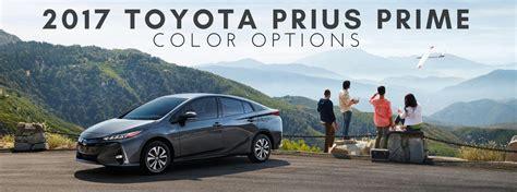 prius colors 2017 toyota prius prime color options