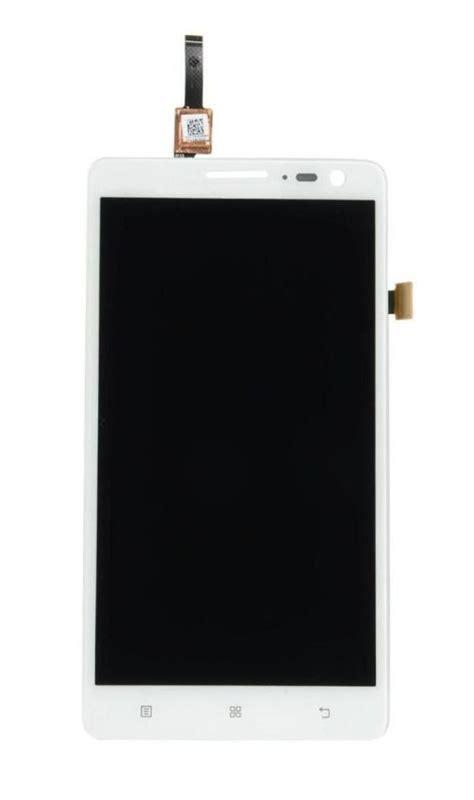 Lcdtouchscreen Lenovo S650 Original White Black lcd with touch screen for lenovo s856 white by maxbhi