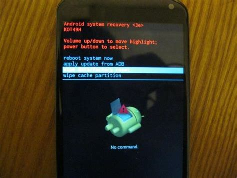 reset frozen android phone how to diagnose and repair android boot problems