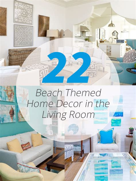 Beach Themed Home Decor 22 beach themed home decor in the living room home