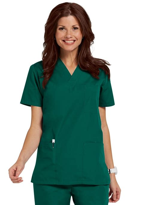 Top Unisex unisex v neck 3 pocket scrub top workwear 4876chop central uniforms