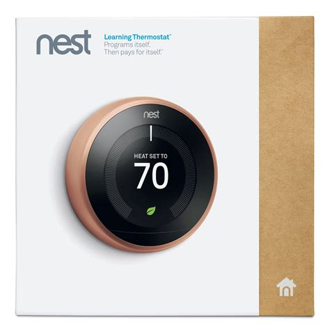 Nest Learning Thermostat 3rd Generation, Copper, Works with Amazon Alexa: Amazon.ca: Tools
