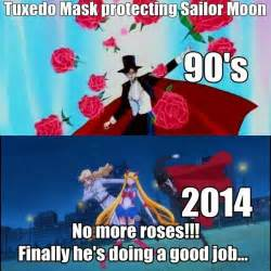Sailor Moon Meme - lol but seriously i loved tuxedo mask because he was all