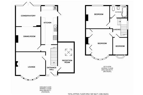 semi detached house floor plan semi detached house plans uk
