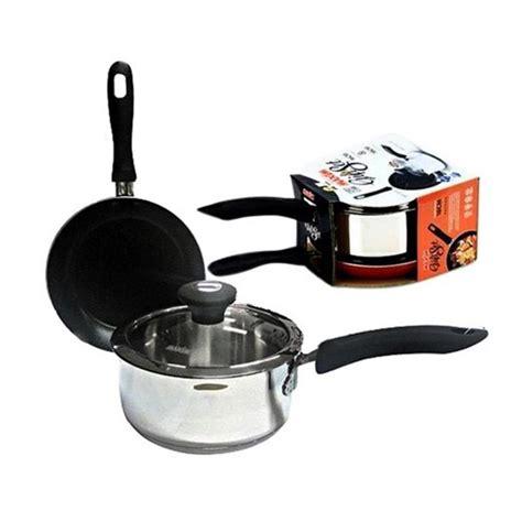 Maspion Sauce Pan 18 Cm Biru set peralatan dapur desainrumahid