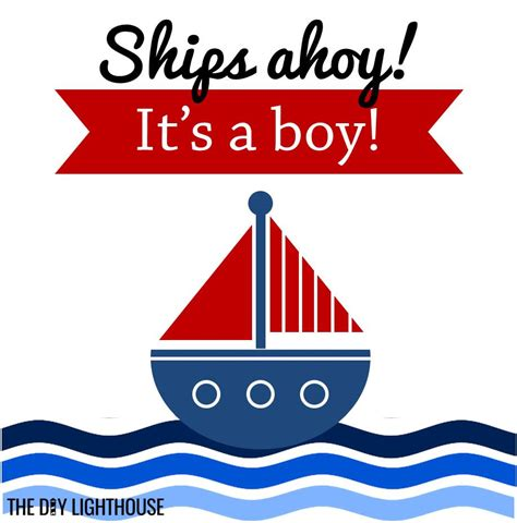 Baby Shower Boat by 25 Boy Baby Shower Theme Ideas The Diy Lighthouse