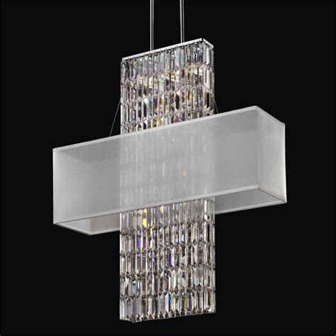 shade chandelier with crystals rectangular chandelier with crystals 28 images