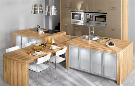 Wood Kitchen Design Light Wood Kitchen Design Stylehomes Net