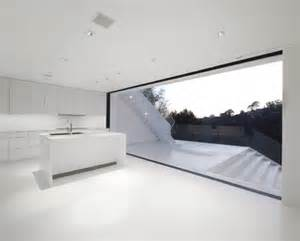 minimalist black and white house on the