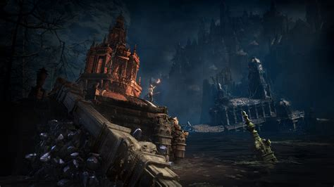 set in darkness a dark souls iii the ringed city dlc gets more screenshots and artwork rpg site