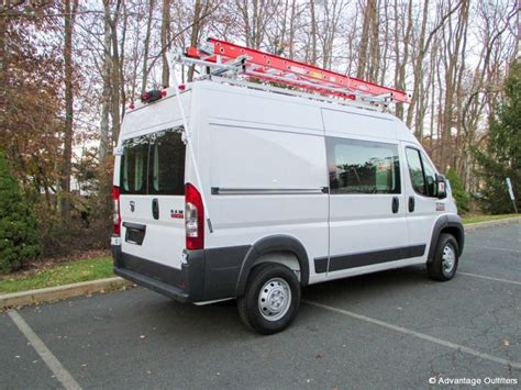 Dodge Promaster Ladder Rack by Ram Promaster Shelving Equipment And Accessories