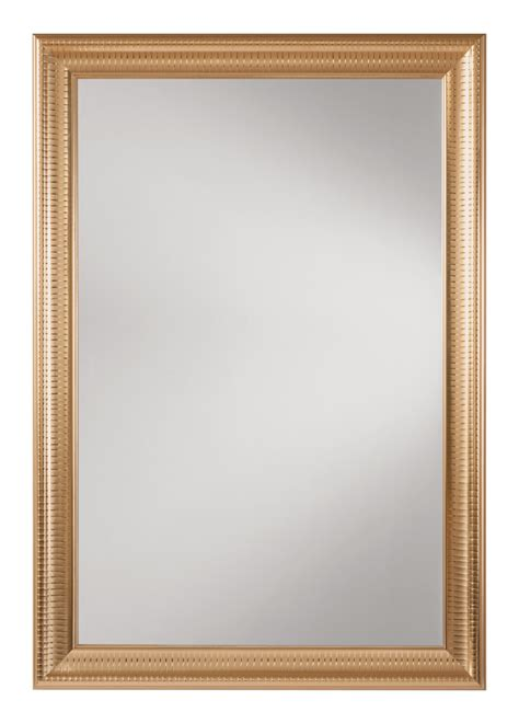 mirror frames savoy rectangle wall mirror with regency gold frame