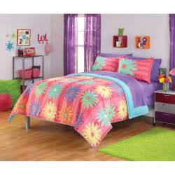walmart bedding your zone popalicious stripe bedding comforter set