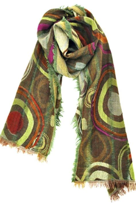 asian eye wool circle scarf from cambria by new moon