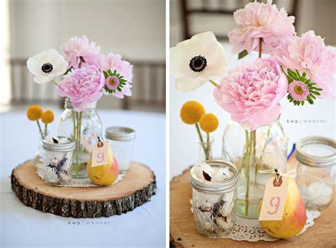 beautiful mason jar vintage wedding centerpieces