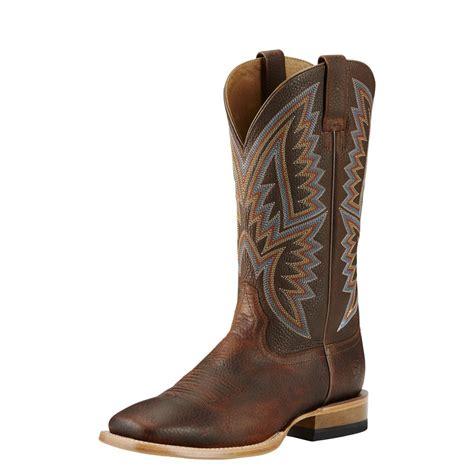 ariat mens hesston boots saddle brown horseloverz