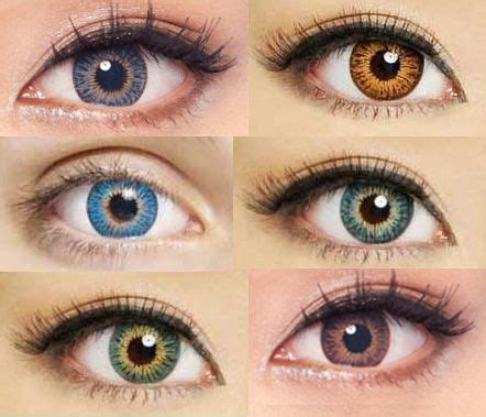 colored contacts, cosmetic contact lenses and korean