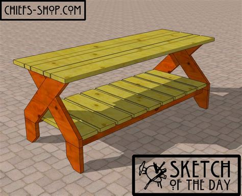 heavy duty picnic table plans woodworking plans plans building a heavy duty picnic table