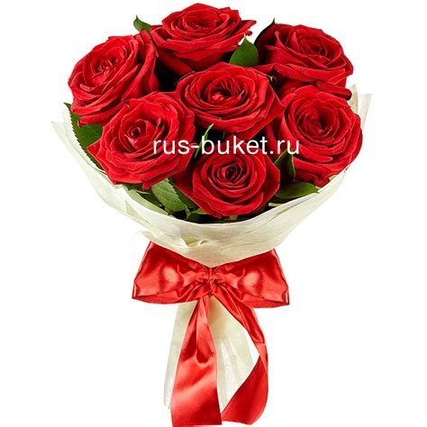 Buy Bouquet by Buy Roses And Bouquets Bouquet Quot 7 Roses Quot In