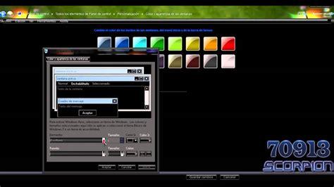 como cambiar escritorio en windows 7 como cambiar la letra de los iconos de escritorio en