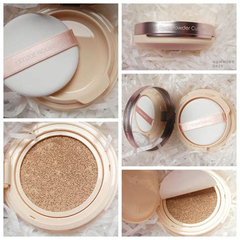 Etude Powder hummingdaze gt gt etude house real powder cushion gt gt