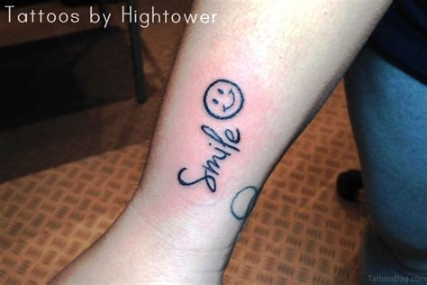 smile more tattoo 24 wonderful smile wrist tattoos
