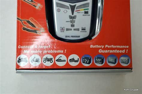 Motorrad Batterie Wird Nicht Geladen by Batterieladeger 228 T Optimate 4 F 252 R Suzuki Honda Weitere