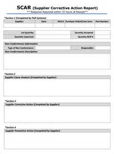 Corrective Template by Resume Business Template Corrective Plan Template