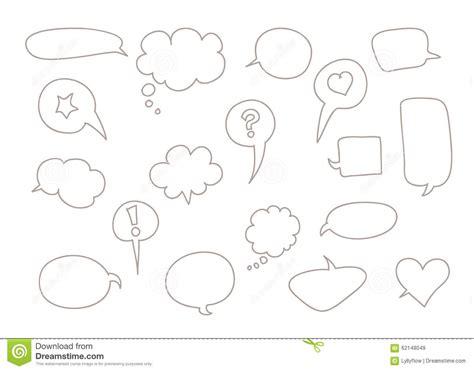 doodle speech free vector doodle speech stock vector image 62148049