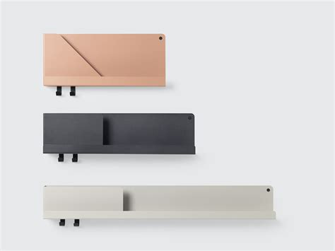 lada muuto folded a sophisticated shelving system with architectural