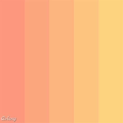 colours that go with peach peach colour palette colour pinterest colors